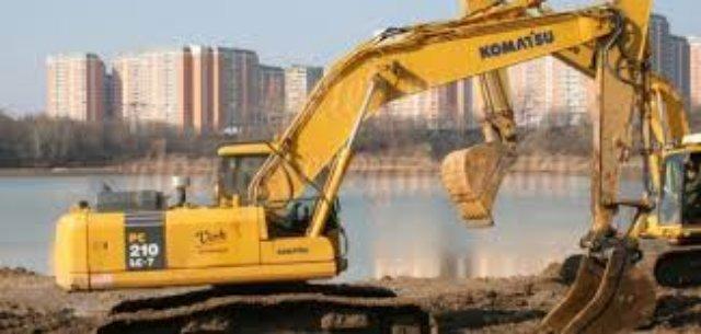 Применение спецтехники на строительных площадках