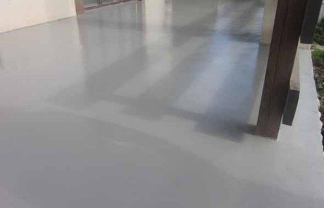 Пол в гараже: полиуретановая пропитка и покрытие для бетона