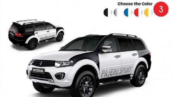Внедорожник Mitsubishi Pajero Sport вышел в новой версии Splash