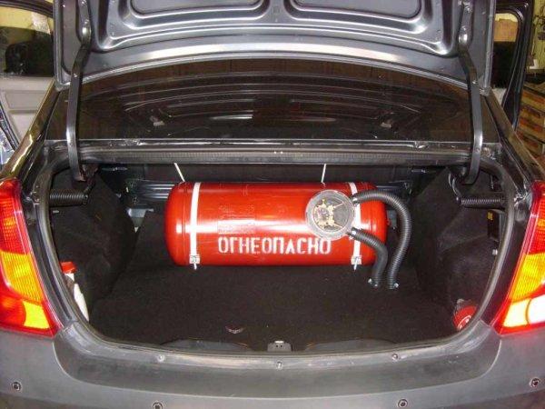 ГИБДД РФ упростит переход автомобилей на газ