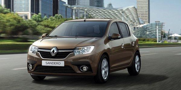 Представлены обновленные Renault Logan и Sandero для России