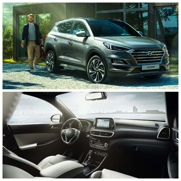 В Россию приехал обновленный кроссовер Hyundai Tucson 2019