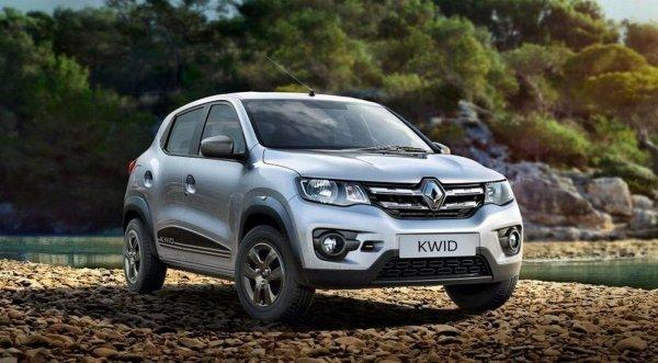 Renault представила обновлённый бюджетный кросс-хэтч Renault Kwid