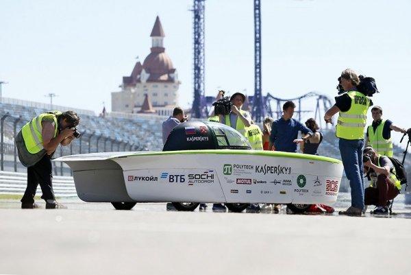 Первый в России солнцемобиль SOL стал лучшим дебютантом на гонке в США