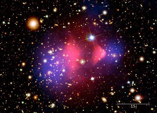 Ученые назвали причину появления «темной материи»
