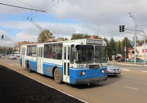 В Саранске на девочку упала штанга троллейбуса