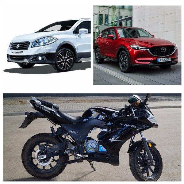 Японских автопроизводителей Suzuki, Mazda и Yamaha уличили в мошенничестве