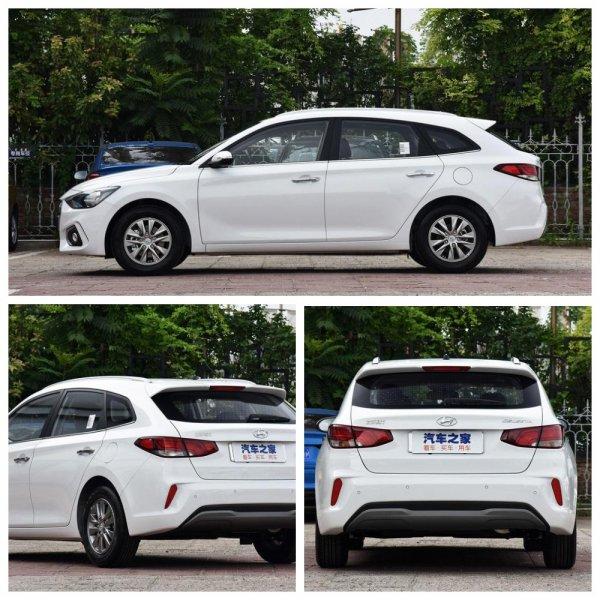 К продажам готовится новый универсал Hyundai Celesta размером LADA Vesta SW