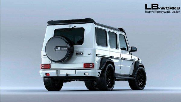 Представлены фото Suzuki Jimny в стиле Mercedes-Benz G-Class