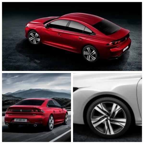 Фастбек Peugeot 508 нового поколения приедет в Россию к концу 2018 года