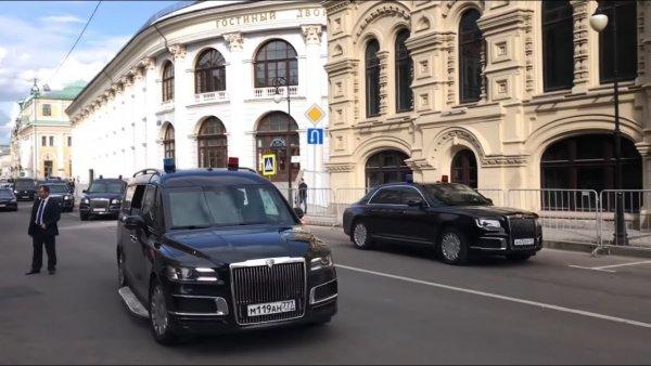 Седан Aurus Senat будет сниматься в фильме «Притяжение-2»