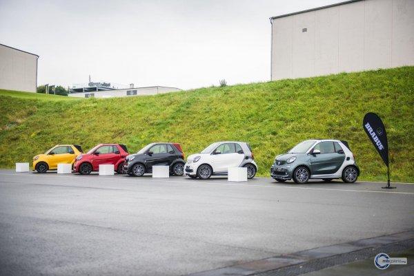 В России предлагаются машины smart в лимитированных сериях