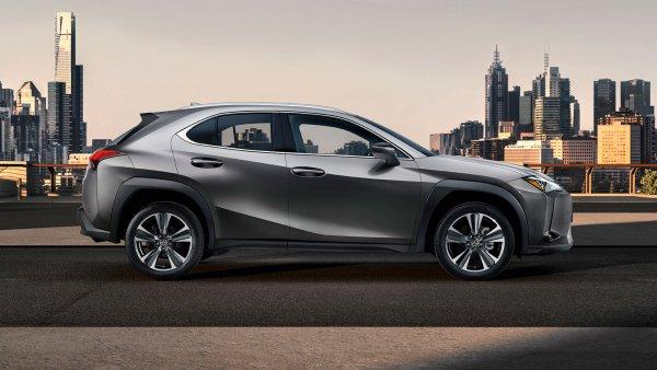 Названа точная дата появления самого дешевого Lexus UX в России