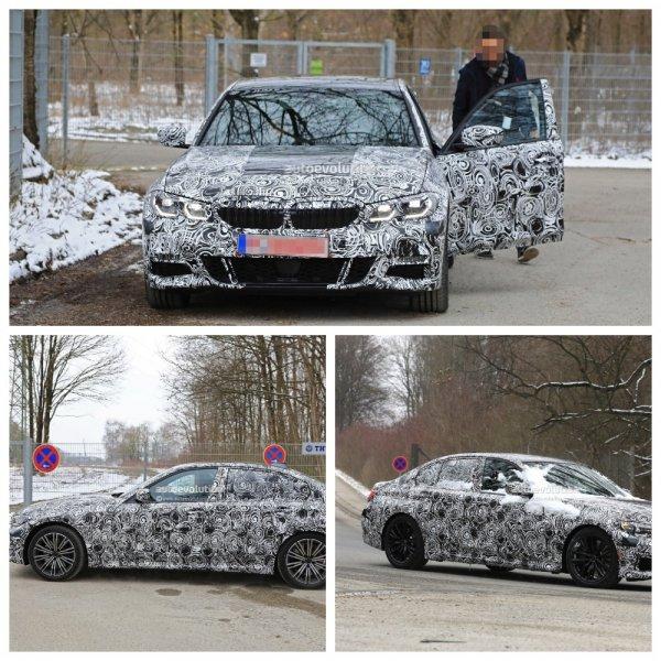 Новый седан BMW 3-Series самым мощным мотором в истории бренда