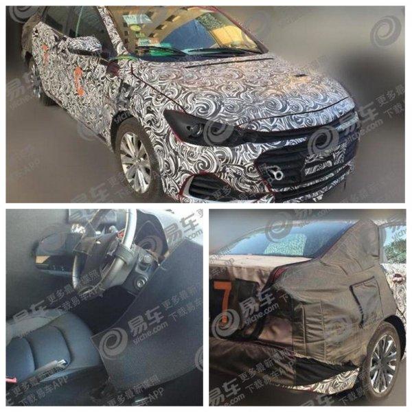 Обновленный седан Chevrolet Cavalier 2019 рассекречен на шпионских фото