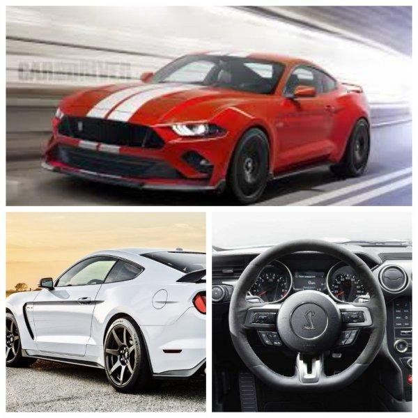 Представлен новый Ford Mustang Shelby GT