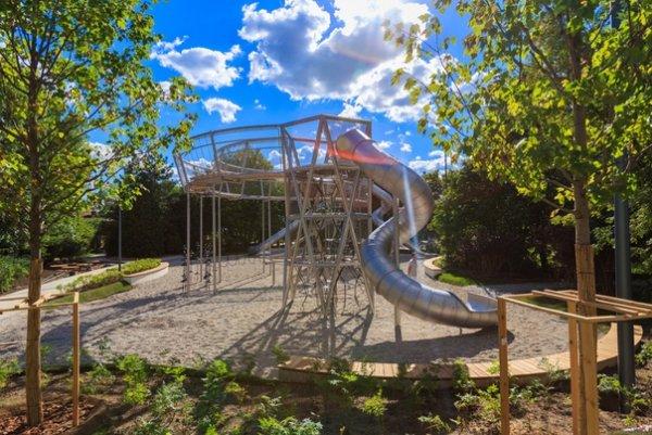 В парке Горького в Москве появится огромная детская площадка