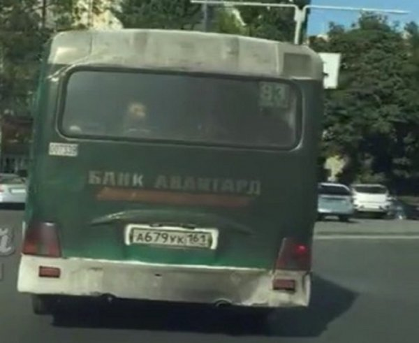В Ростове маршрутка-вонючка «закоптила» пассажиров