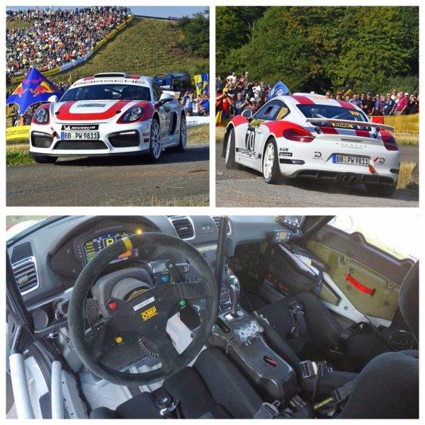 Porsche Cayman GT4 Clubsport Rally для ралли прошел этап WRC