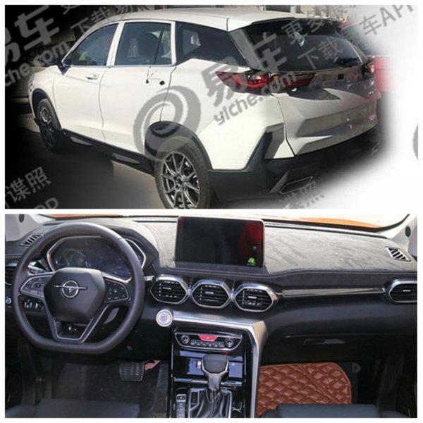 На тестах замечен «клон» нового Hyundai Santa Fe – кроссовер Haima