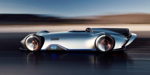 Mercedes-Benz показал 750-сильный электромобиль EQ Silver Arrow