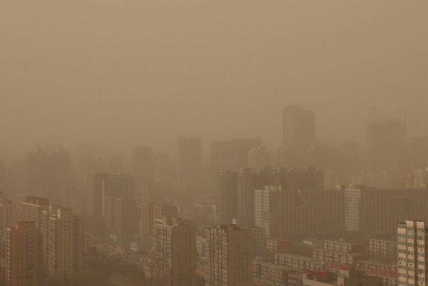NASA создало карту пылевых облаков, окутывающих Землю