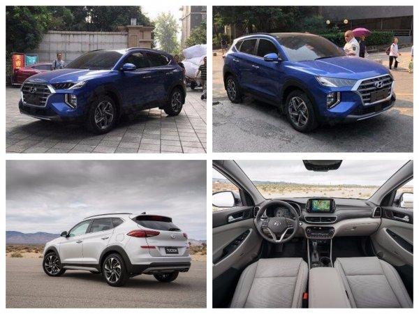 В сети рассекретили дизайн нового кроссовера Hyundai Tucson