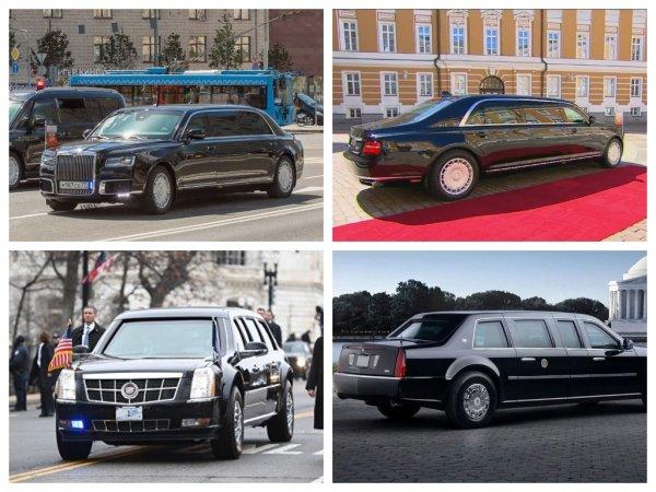 Мантуров рассказал, чем лимузин Путина круче «зверя» Трампа
