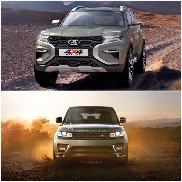 «Китай отдыхает»: В сети назвали авто, с которых «слепили» дизайн новой LADA 4x4 Vision