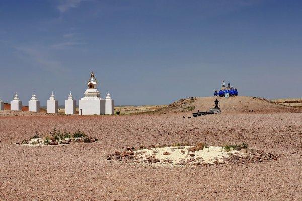 Метеоритное вещество нашли в пустыне Гоби