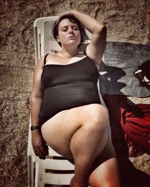 130-килограммовая Саша Черно хочет увеличить себе грудь и пройти курс абдоминопластики