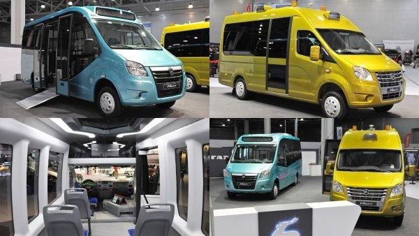 «ГАЗ» представил на ММАС-2018 беспилотники на базе электробусов «ГАЗель NEXT»