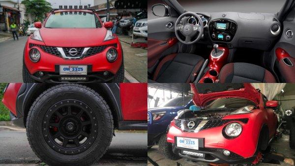 Nissan Juke стал внедорожником благодаря филиппинским мастерам