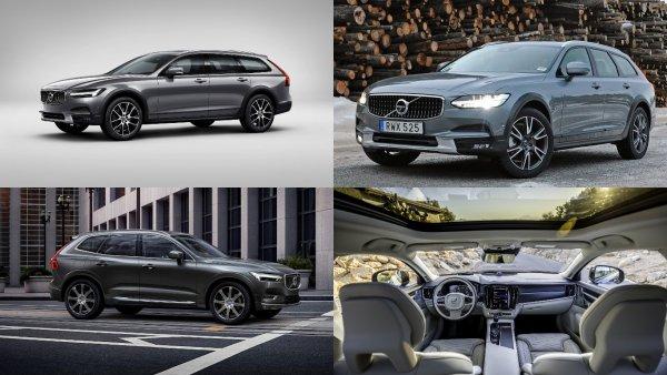 Volvo представила новый внедорожный универсал Volvo V60 Cross Country
