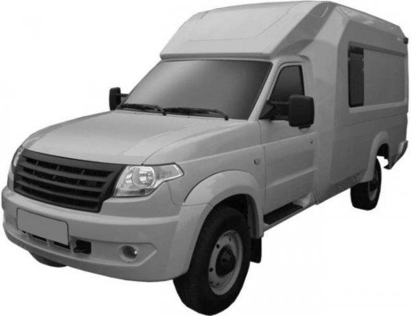 УАЗ запатентовал грузопассажирский фургон УАЗ «Профи»
