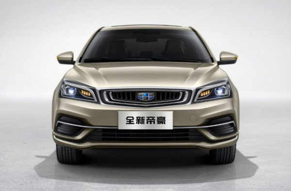 Обновленный седан Geely Emgrand 7 вышел на российский рынок
