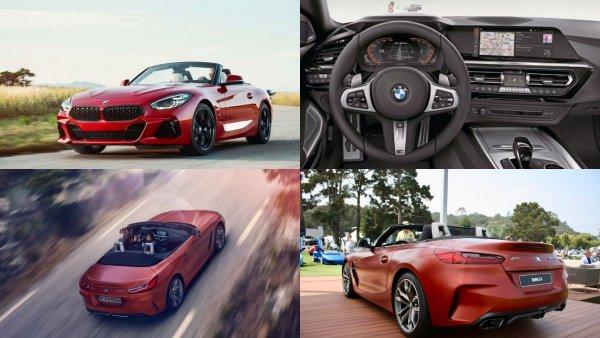 Объявлена стоимость нового родстера BMW Z4 в России