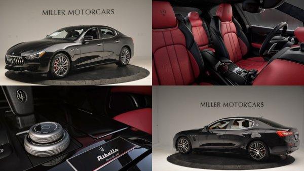 В России появится ограниченная серия Maserati Ghibli Ribelle