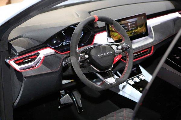 Skoda показала новую модель - Vision RS