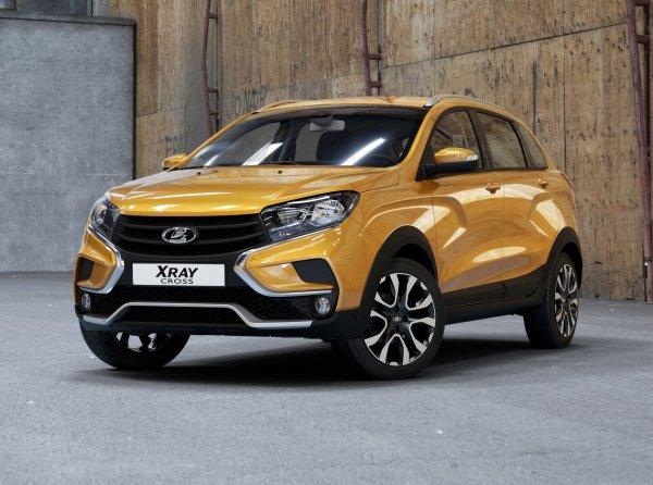 «АвтоВАЗ» начал серийный выпуск внедорожной версии LADA XRay