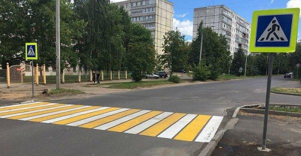 Иномарка сбила женщину с ребёнком на «зебре» в Воронеже