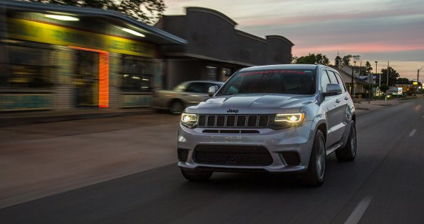 Тюнеры создали 1200-сильную версию Jeep Grand Cherokee Trackhawk