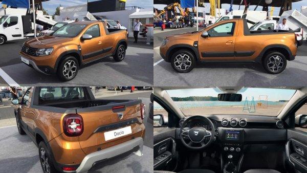 Dacia Duster превратился в пикап