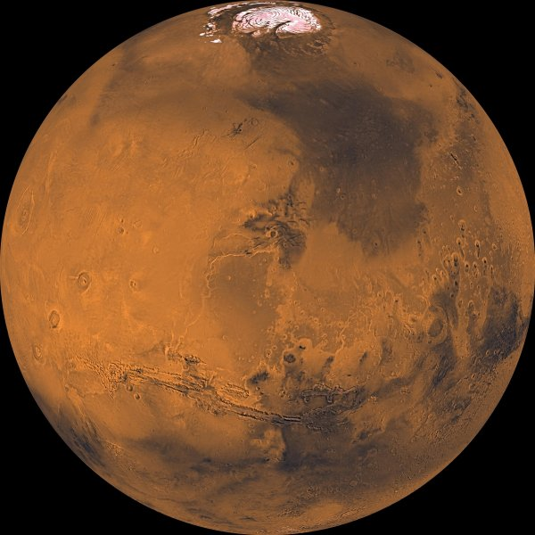 NASA показало парашют для приземления на Марс