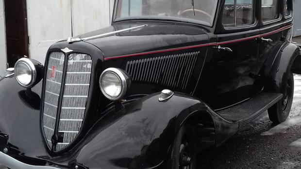 Тюменец отреставрировал легендарный автомобиль