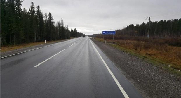 На трассе Тюмень – Ханты-Мансийск отремонтировали 11 километров