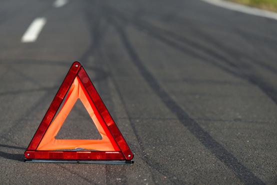 В Тюмени два человека получили различные травмы, не поделив дорогу
