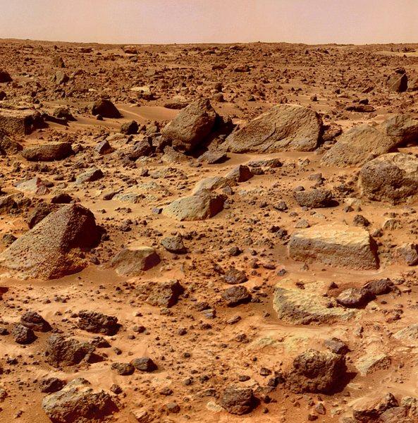 Ученые наткнулись на следы десятков высохших озер на Марсе