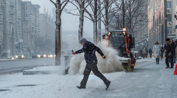 В Красноярске за пару дней выпало месячное количество снега