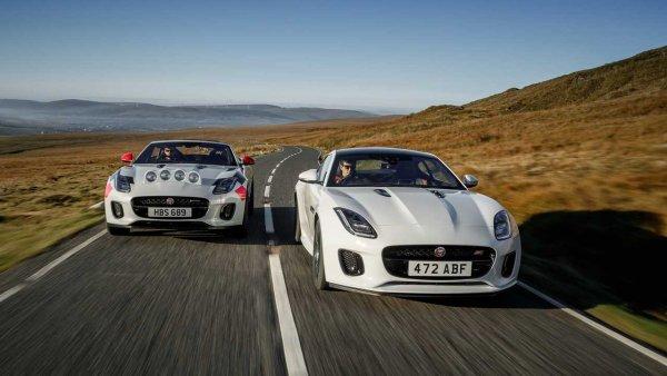 Jaguar превратил кабриолет Jaguar F-Type в ралли-кар